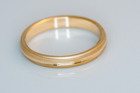 3mm kultasormus
